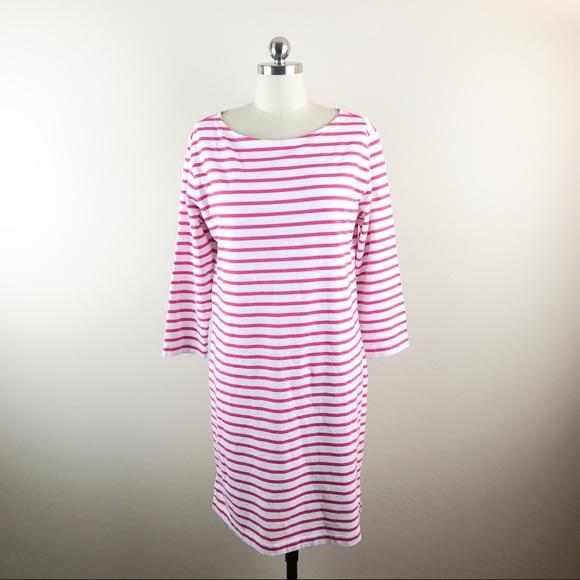 ebb766d10ce Vineyard Vines Dresses | Pink And White Striped Dress New M | Poshmark